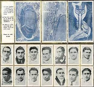 1015: World Cup 1930. Leporello Uruguay World Champion