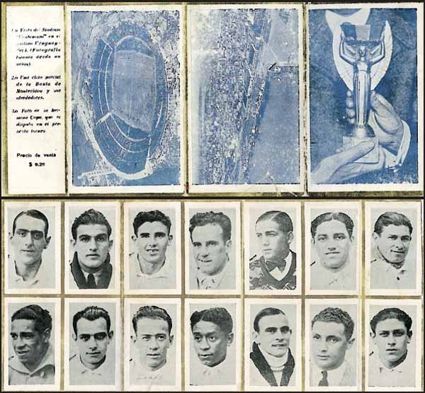 1015: World Cup 1930. Leporello Uruguay World Champion