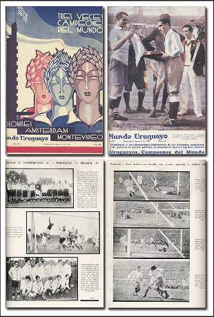 1017: World Cup 1930. Argentina Report. Very rare!!