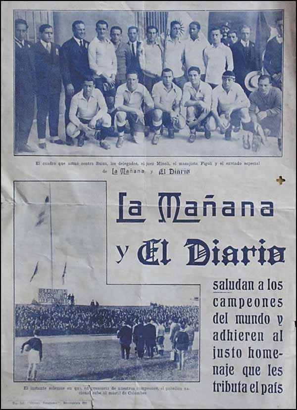 1018: Olympic Games 1928. Poster Uruguay Football Gold