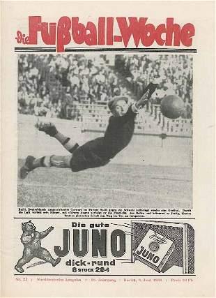 1022: World Cup 1938. German Magazin