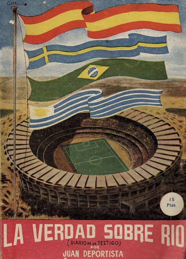 1023: World Cup 1950. Rare Report