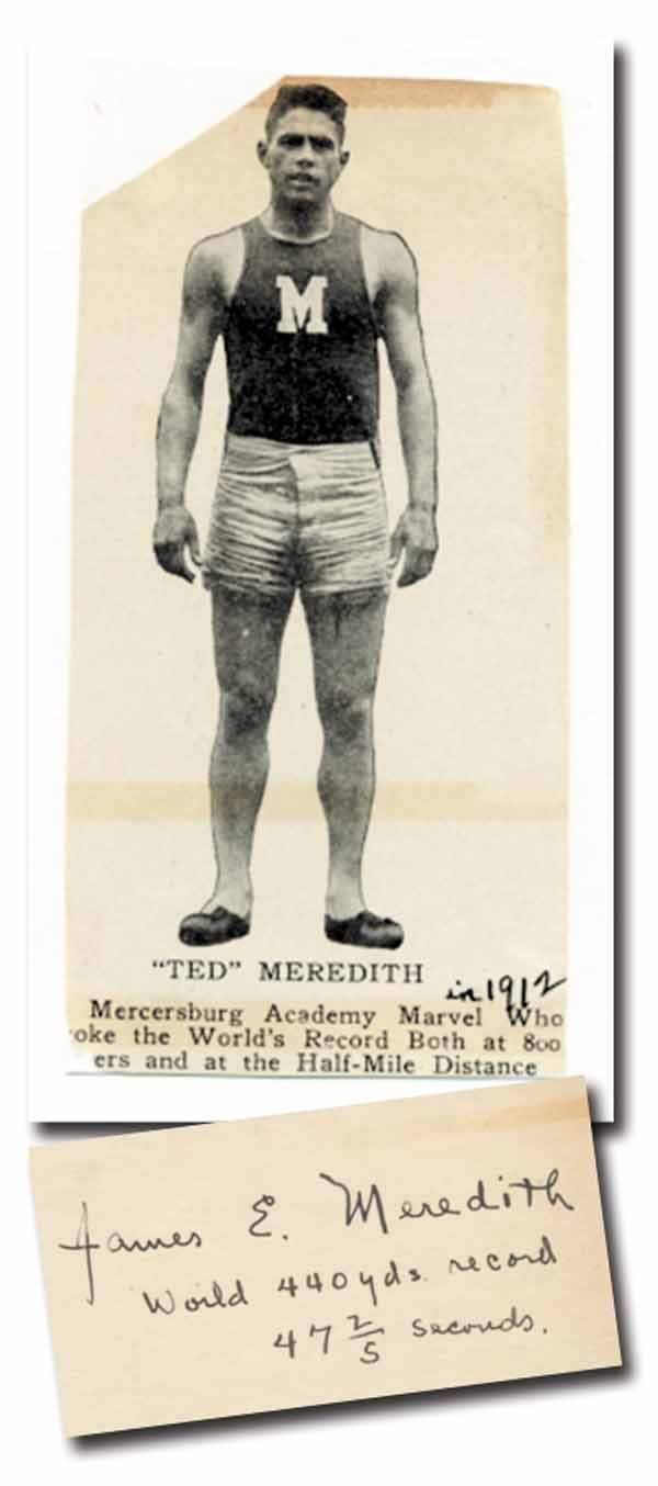 2016: Autograph Olympic Games 1912 James Meredith
