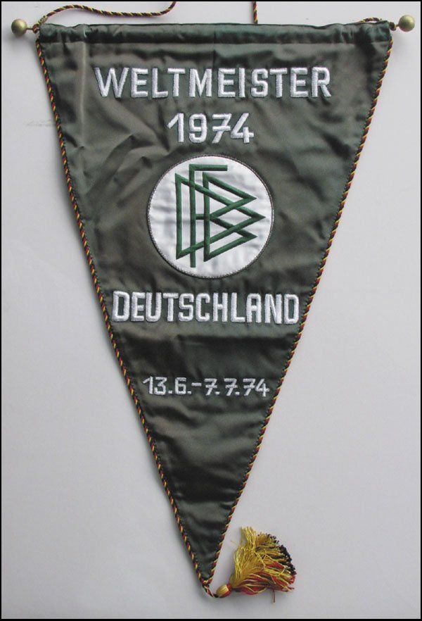 7002: FIFA World Cup. Official German Pennant
