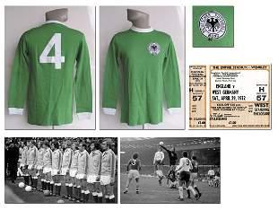7003: German international shirt from Schwarzenbeck 72