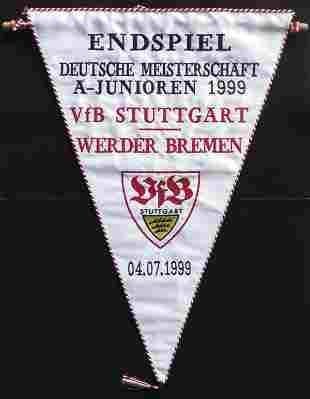7015: Match pennant Germany 1999 Stuttgart v Bremen
