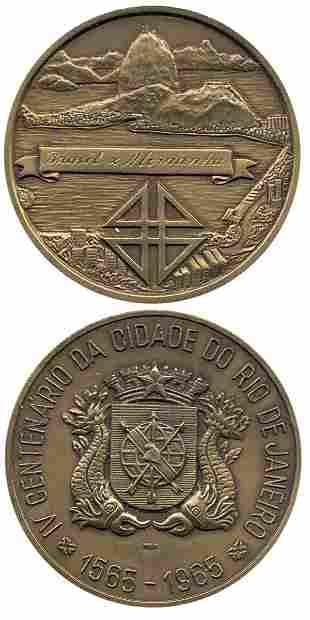 7019: Football Bronze medal Brasil v Germany 1965