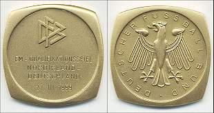 7022: Participation medal Germany v Northern Ireland 99