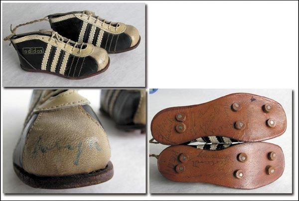 7264: World Cup 1958. Adidas Mini Football boots