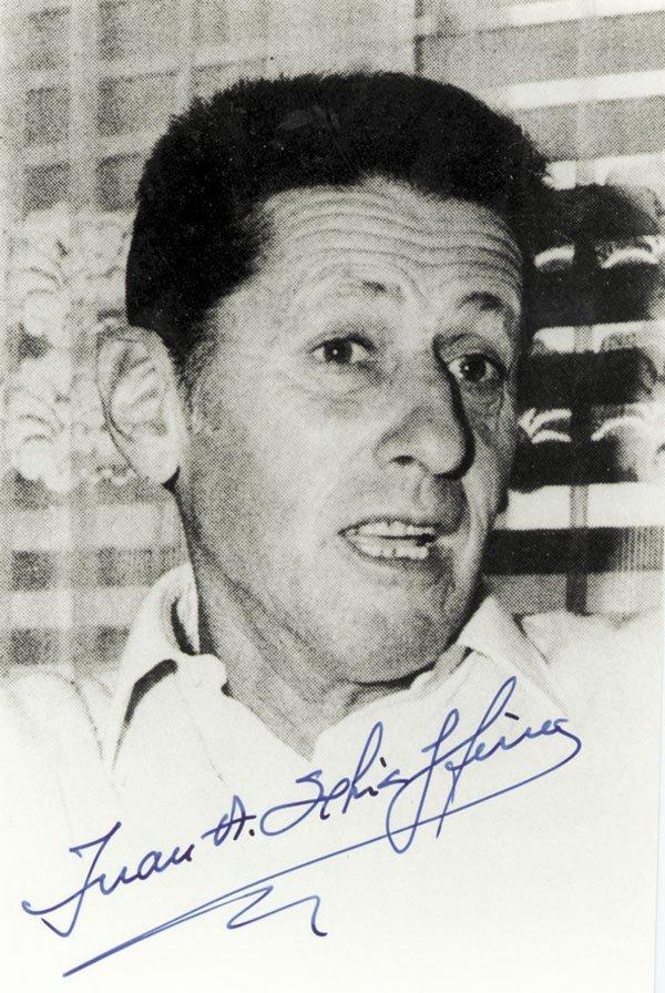 7596: Autograph World Cup 1950 Schiaffino