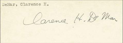 7996: Autograph Olympic Games 1924 athletics