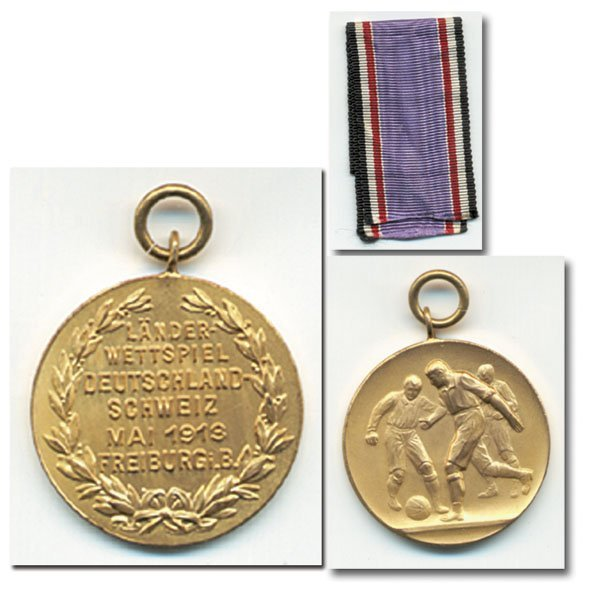7001: Paticipation medal 1913 Football match Germany v