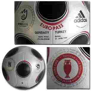 Eurocup 2008. Original Matchball Germany v Turkey