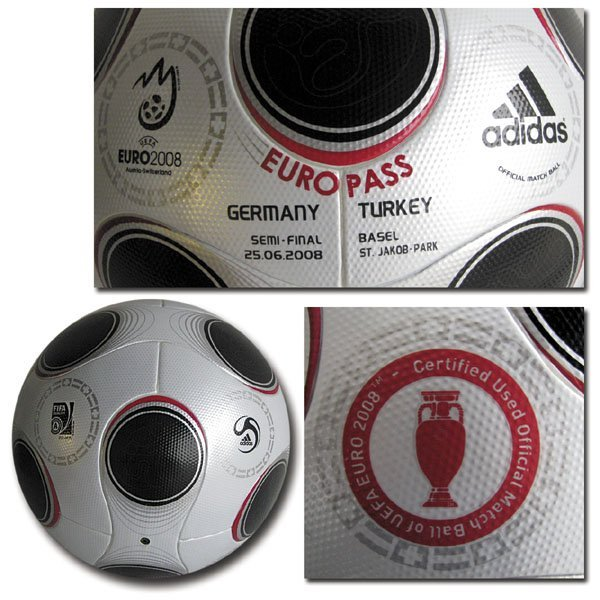 7002: Eurocup 2008. Original Matchball Germany v Turkey