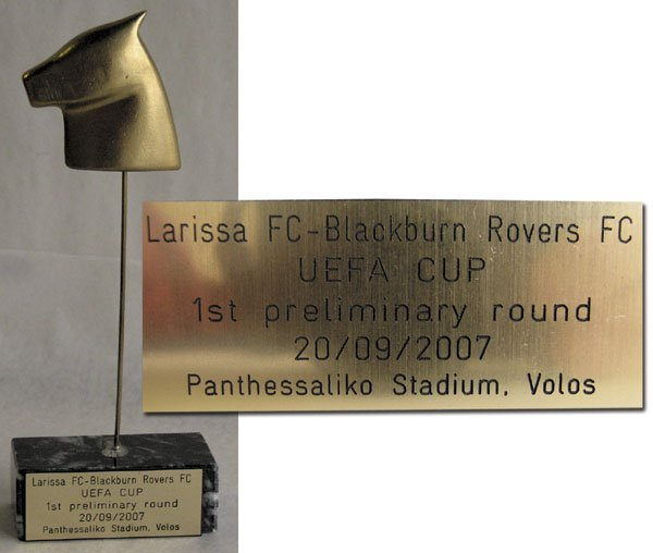 7003: UEFA Cup 2007. Blackburn Rovers