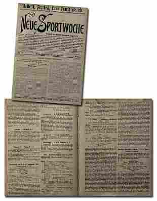 Rare German Football Magazin Neue Sportwoche 1904