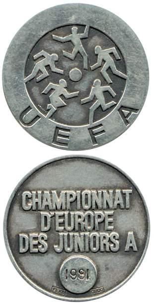 UEFA Euro 1981. Winnermedal