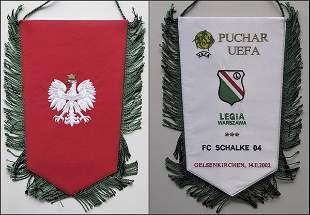 UEFA-Cup Pennant 2002 Warschau v Schalke