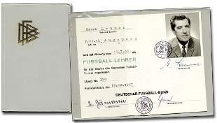 Ernst Lehner German FA Passport