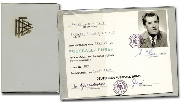 7018: Ernst Lehner German FA Passport