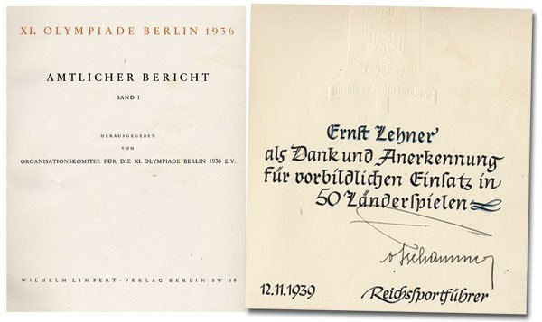 7020: Olympic games Berlin 1936. Official Report