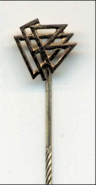 Rare German football pin DFB 1955