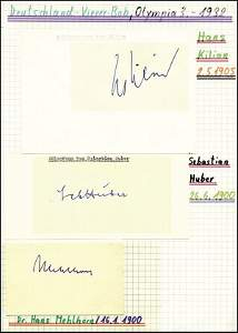 8142: Autograph Olympic Games 1932 Germany