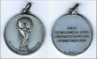 Siegermedaille WM1974