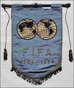 Wimpel FIFA 1904-1954