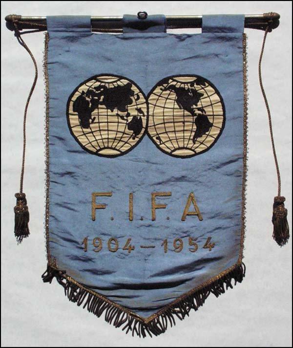 4007: Wimpel FIFA 1904-1954
