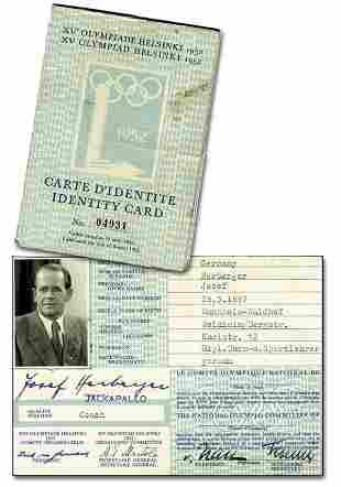 Ausweis OS 1952