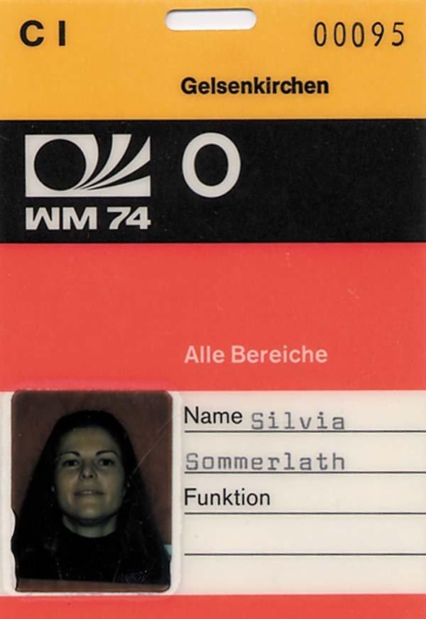 4009: Ausweis WM 1974