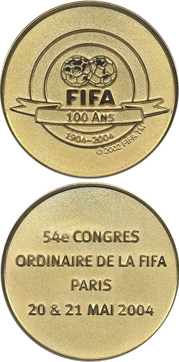 4015: FIFA-Medaille 2004