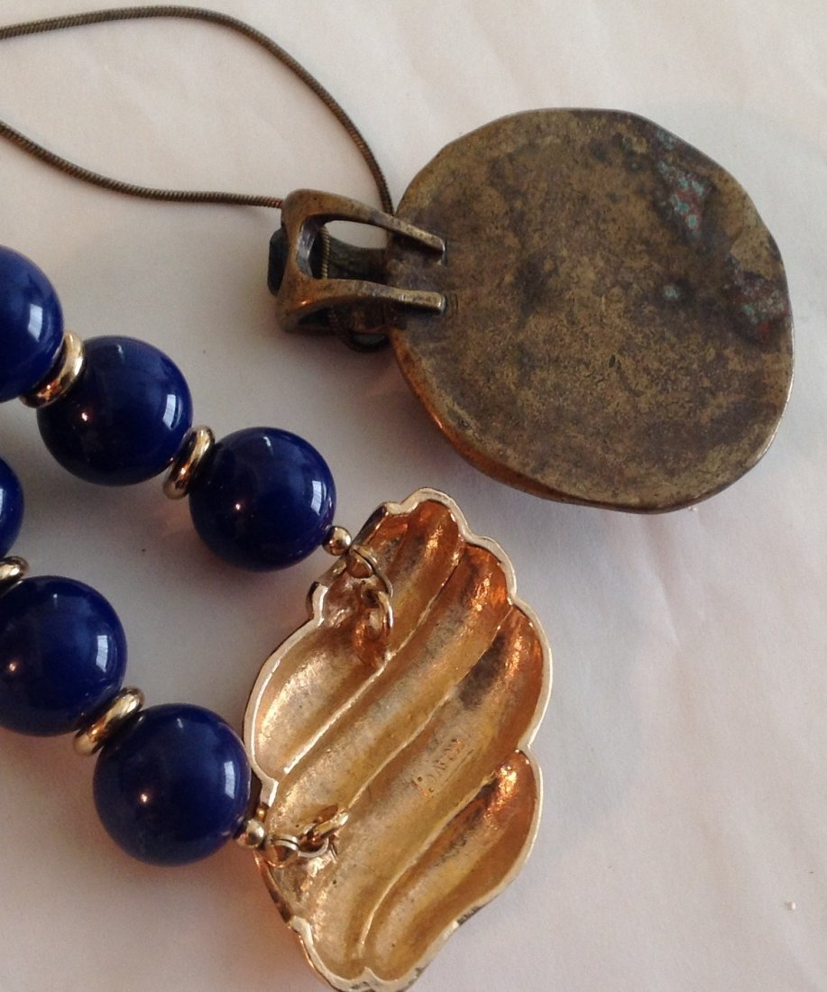 Estate vintage assorted jewelry (T) - 2