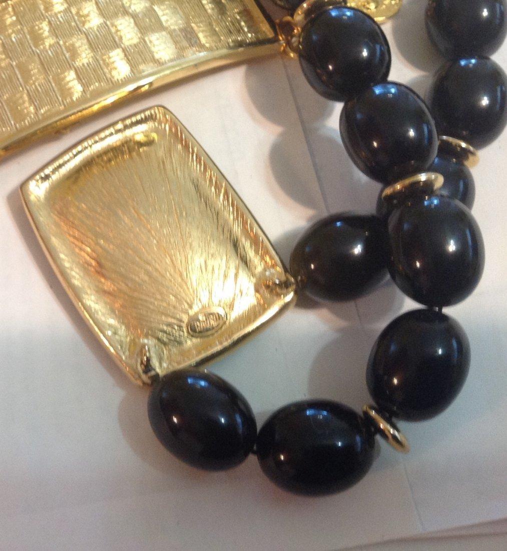 Estate vintage assorted & trifari jewelry (T) - 2