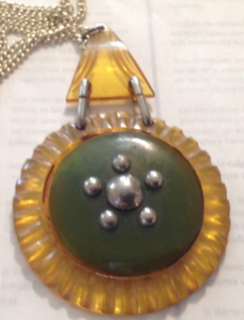 Estate vintage antique assorted jewelry (T) - 2