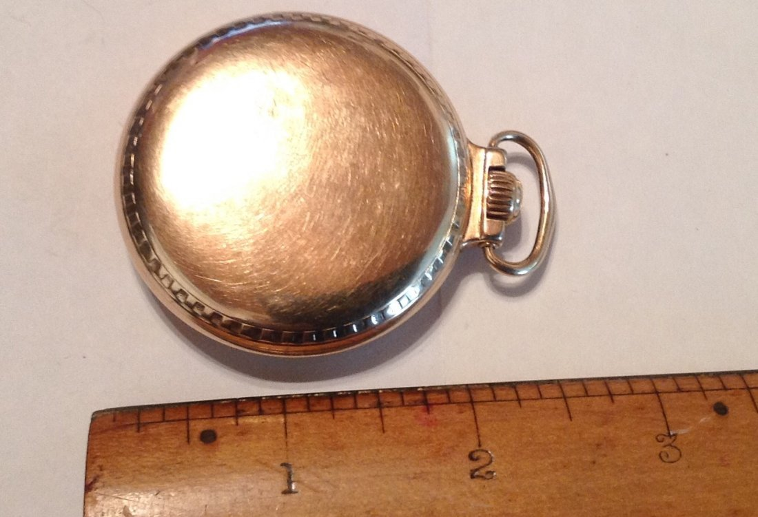 Estate Antique Elgin BW Raymond 16s pocket watch  (S) - 3
