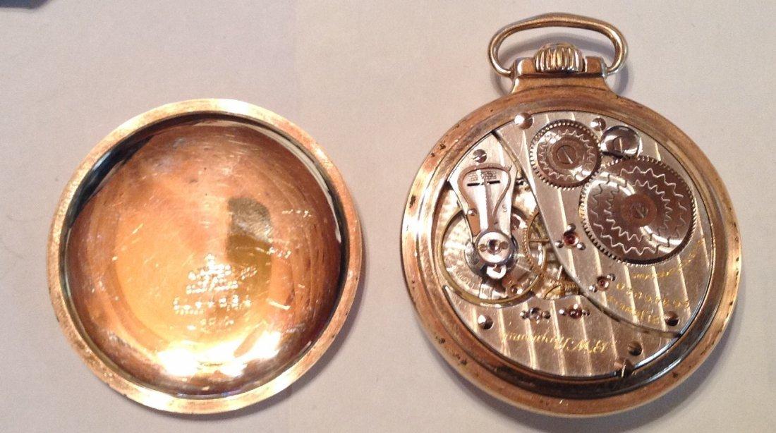 Estate Antique Elgin BW Raymond 16s pocket watch  (S) - 4