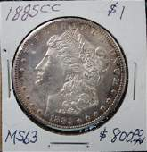 1885 CC Dollar Coin