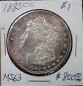 1885 CC Dollar Coin