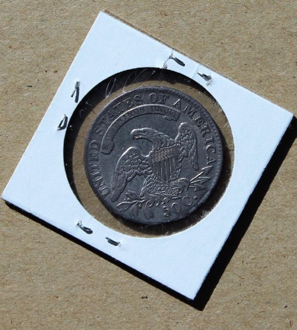1832 U S Liberty  50 cent piece - 4