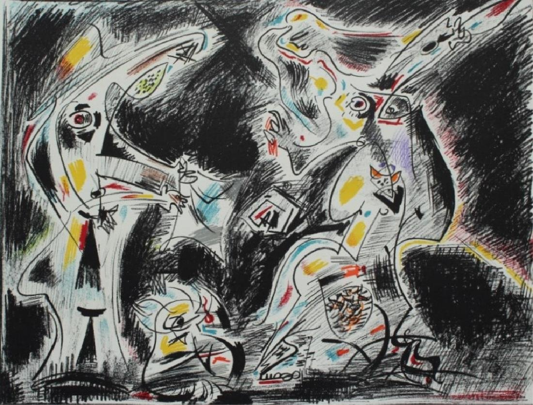 Andre Masson  (French 1896-1987) - 2