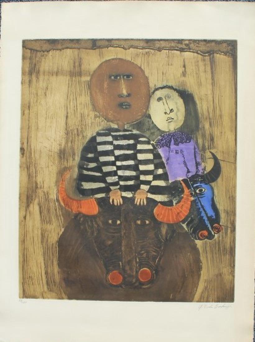 Graciela Rodo Boulanger  Bolivian (1935-)