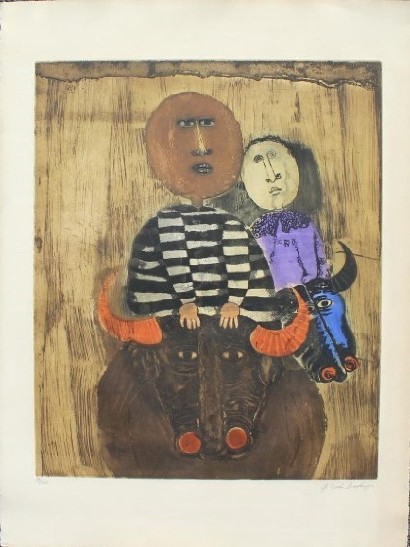 Graciela Rodo Boulanger  Bolivian (1935-) - 3