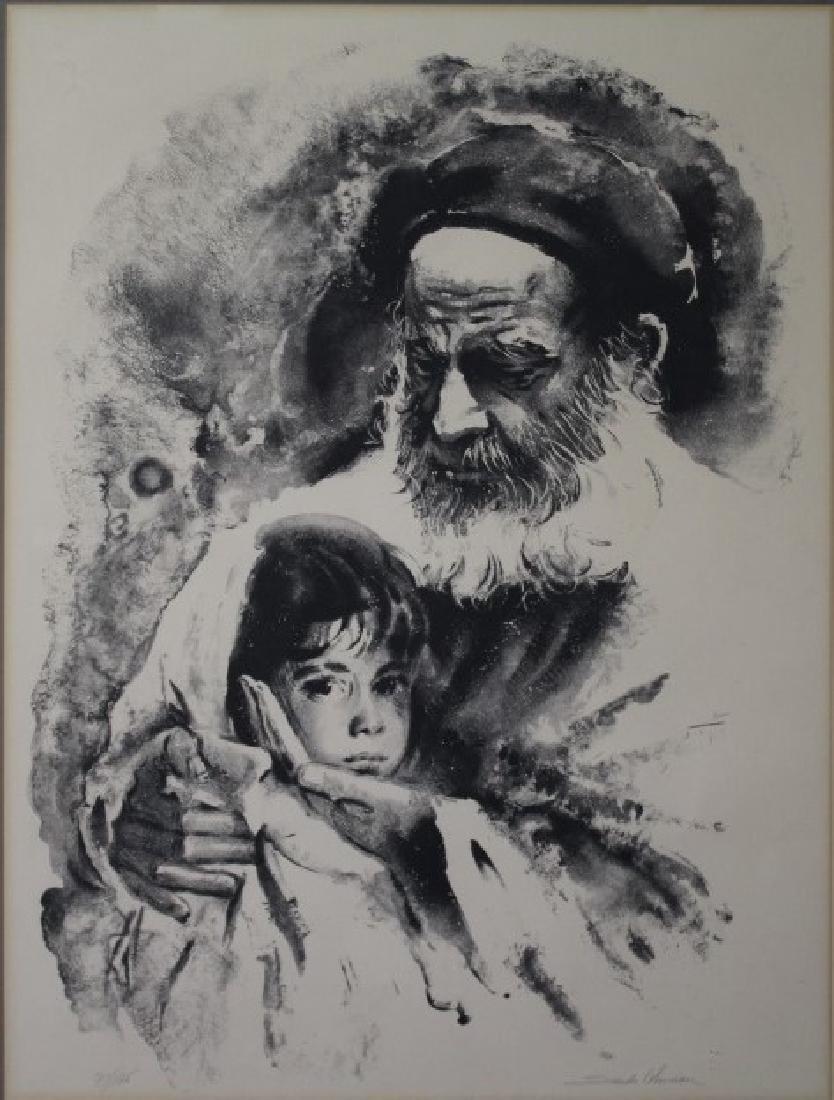 Sandu  Liberman (Rominian (1923-1977) - 2