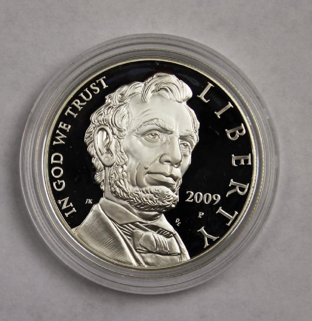 Abraham Lincoln Commemorative Silver Dollar