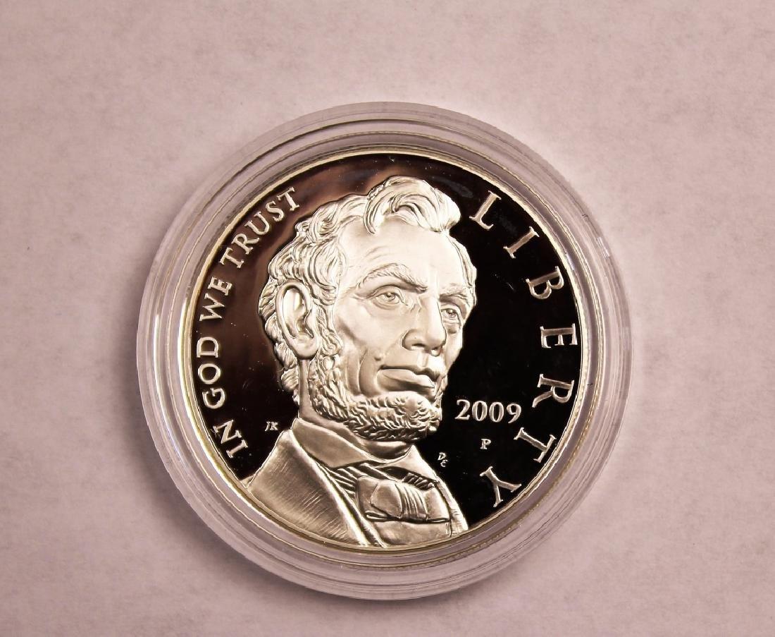 Abraham Lincoln Commemorative Silver Dollar - 4