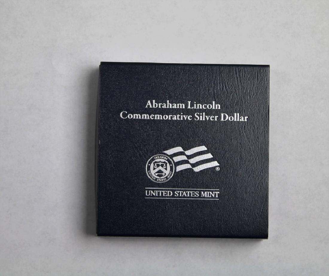 Abraham Lincoln Commemorative Silver Dollar - 7