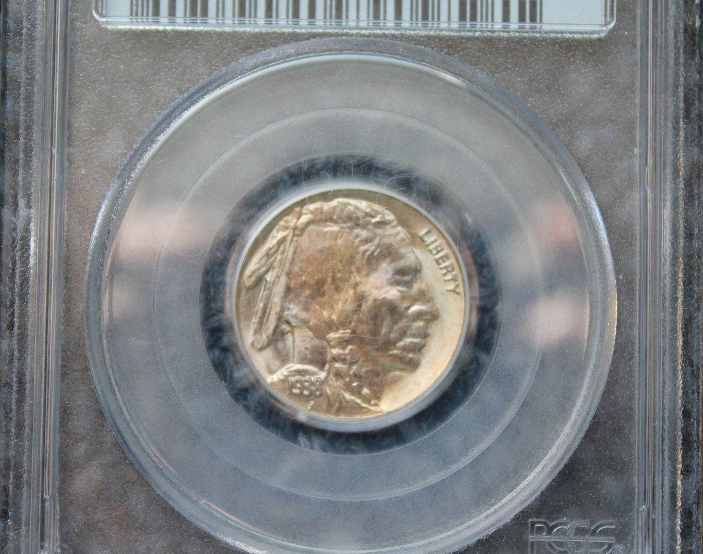 1938D Buffalo Nickel   (PCGS MS) - 2