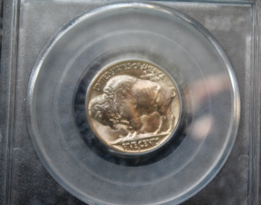 1938D Buffalo Nickel   (PCGS MS) - 3